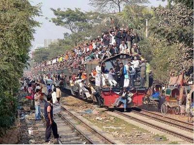 Funny Train Journey