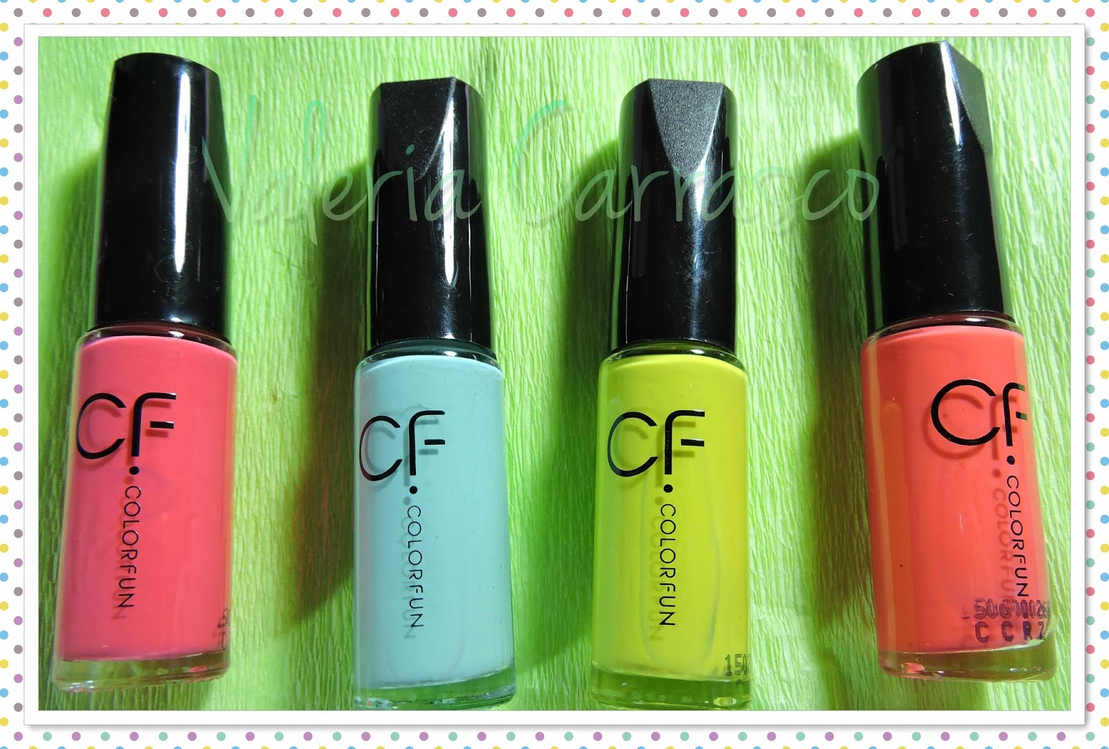 Esmaltes Color Fun ♡ | Valeria Carrasco
