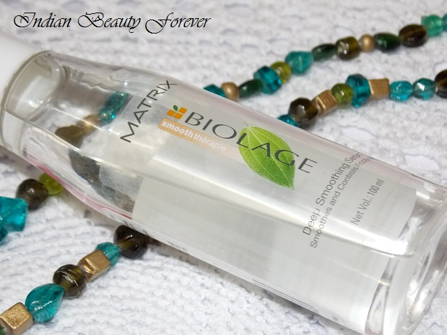 Matrix Biolage Deep Smoothing Serum review and how to use