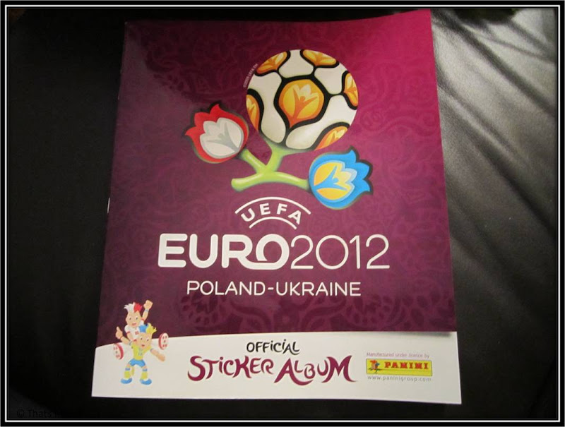 Album Panini Euro2012 sticker album