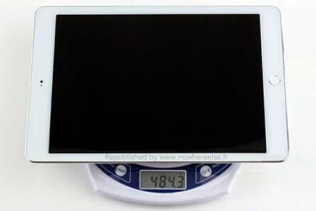 Bocoran, gambar pertama wujud iPad Air 2 dengan touch ID