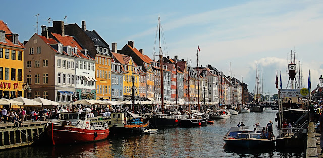 Copenhague, capital de Dinamarca