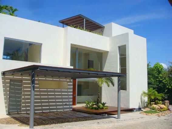 Decoraci n minimalista y contempor nea julio 2011 for Casas minimalistas modernas con cochera subterranea