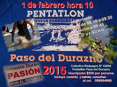 Pentatlón Paso del Durazno (Durazno, 01/feb/2015)