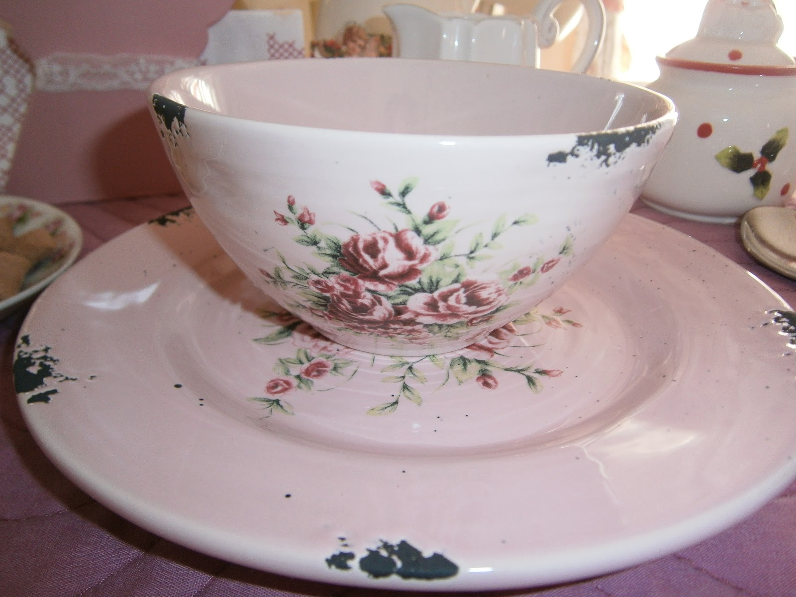 The romantic rose piccola colazione e belle emozioni - Tazze colazione ikea ...