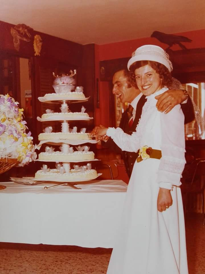 Nozze dei miei genitori (1 maggio 1975)