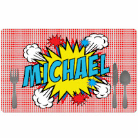 Psychobaby Pop Art Placemat