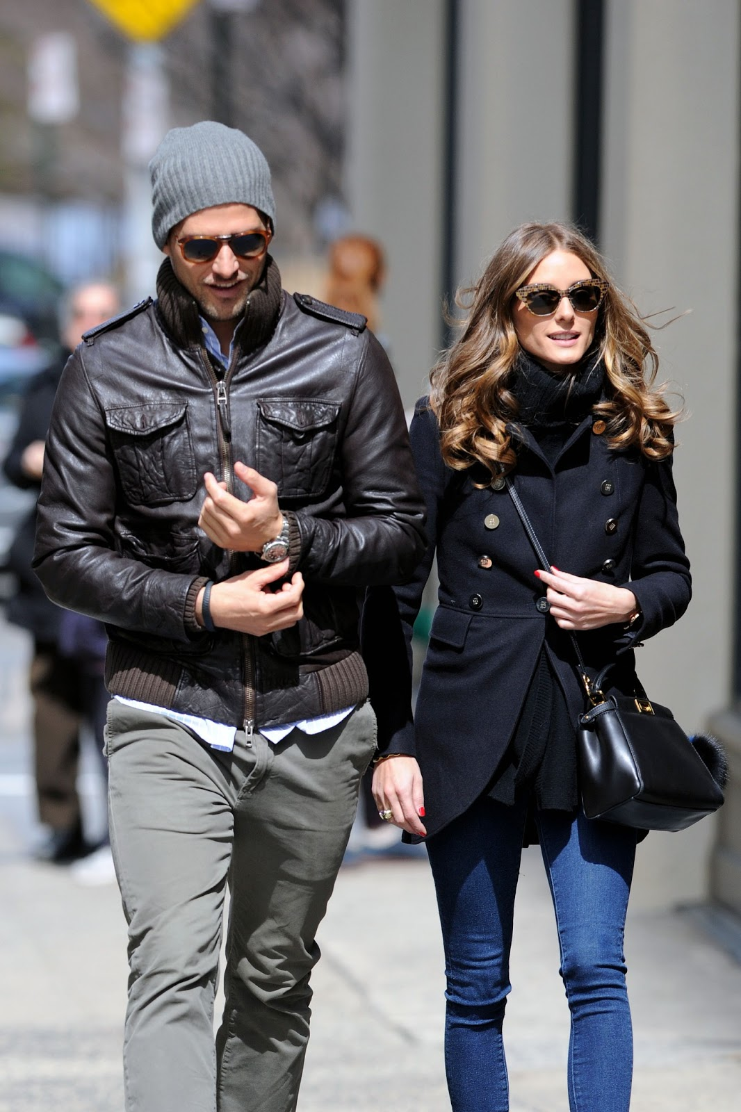 Olivia Palermo and Johannes Huebl, who have been dating for four years ...
