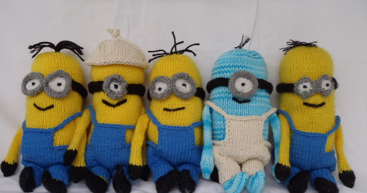 Stanas Critters Etc Knitting Pattern For Minions Part 2