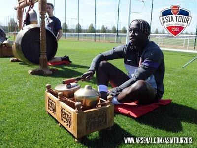 Pra-Musim Arsenal Musim 2013/2014