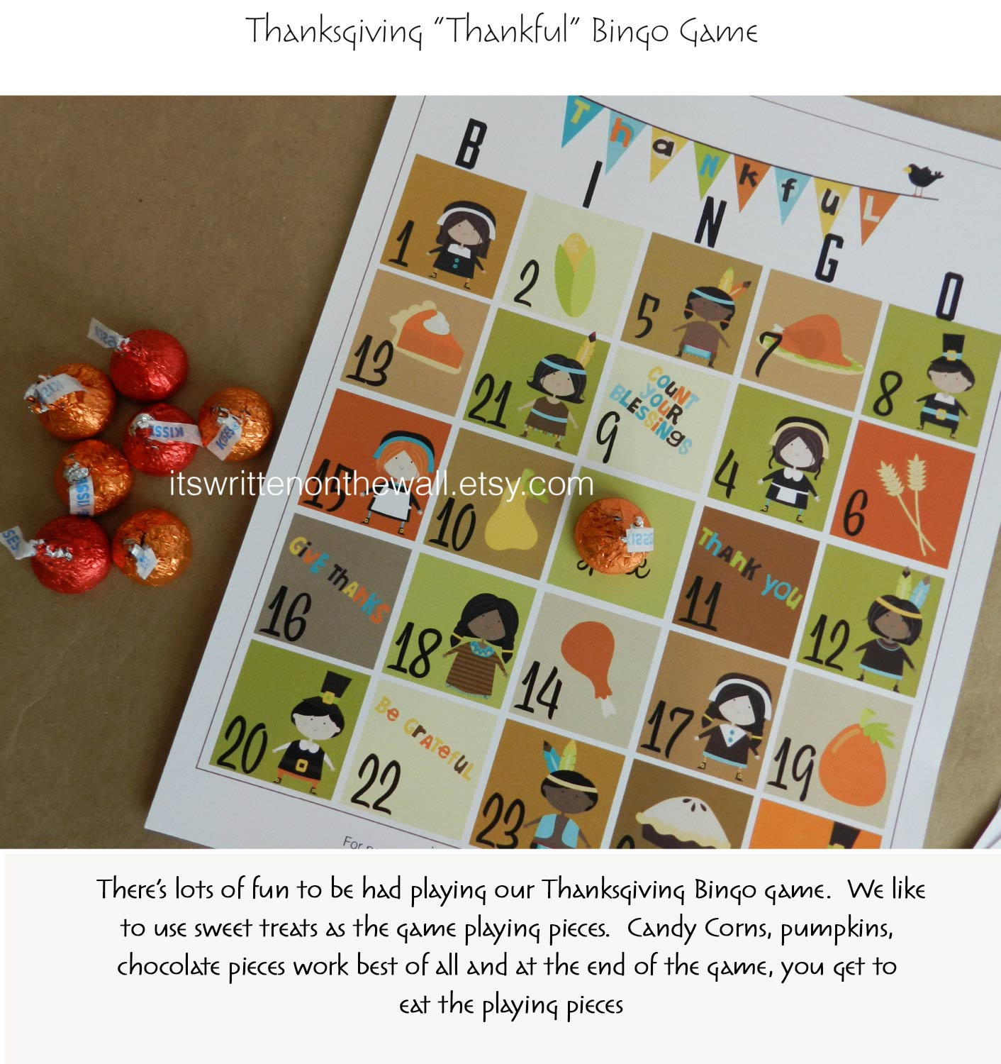 Our Thanksgiving Bingo will Keep the Kids Busy on Thanksgiving