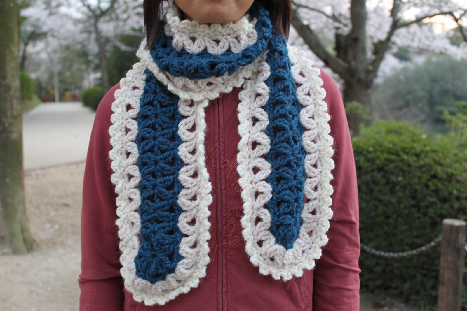 Casual Crafting Journal: Crochet Mile a Minute Scarf