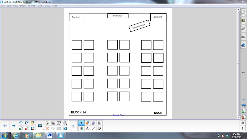Blank Seating Charts For Teachers Pictures to Pin – Classroom Seating Chart Templates