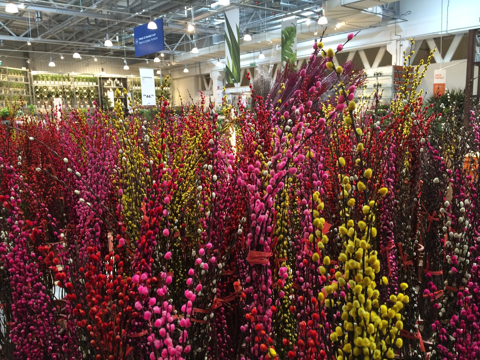 Chinese new year shopping at ikea cheras parenting times