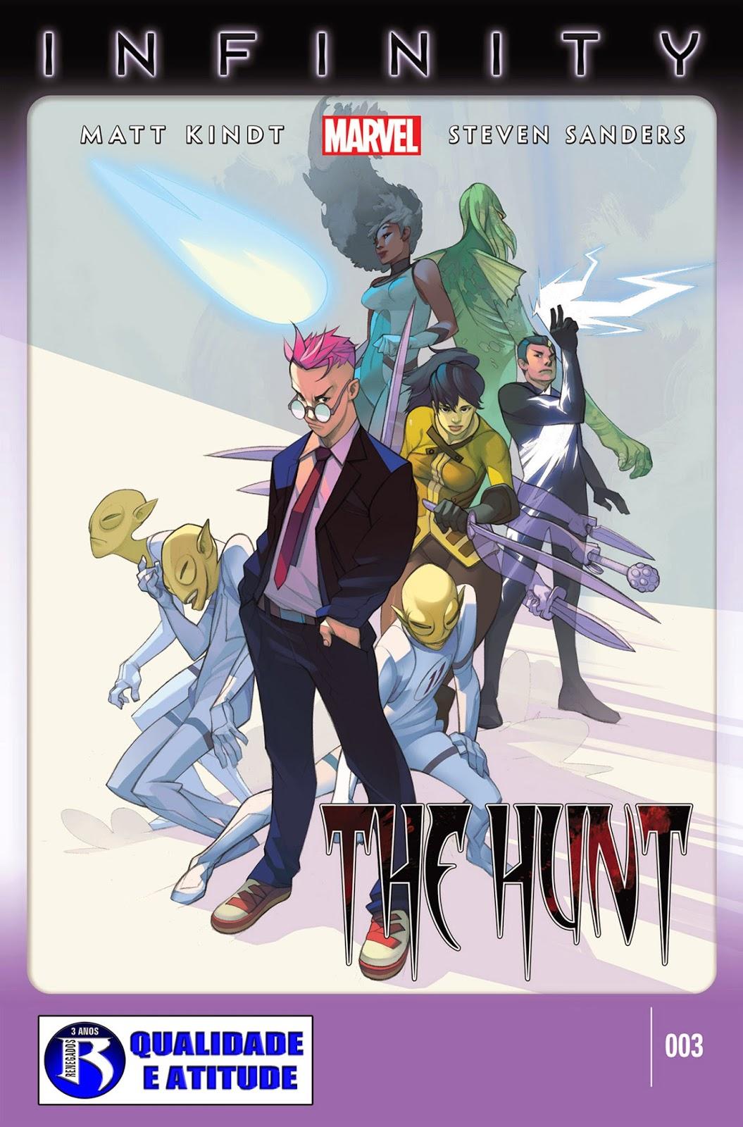 Nova Marvel! Infinito: A Caçada #3