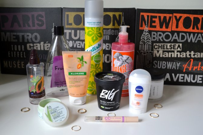 April Empties!