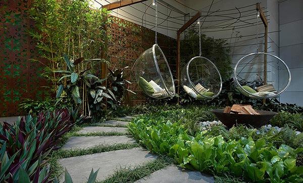taman rumah minimalis kecil mini belakang jepang rachael