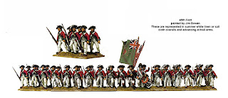 Perry Miniatures AWI British Infantry 45th Foot