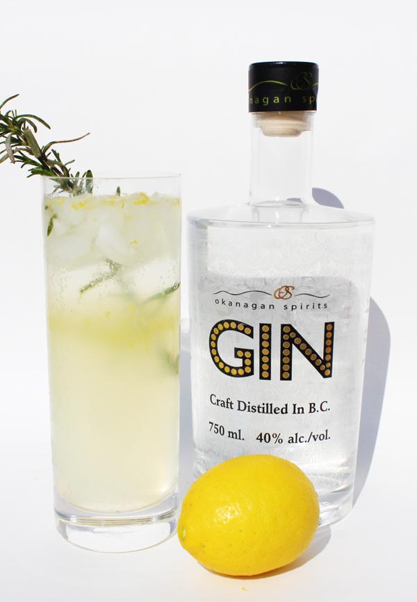 ... Bombed: Monday Morning Eye Opener: Lemon & Rosemary Gin Fizz