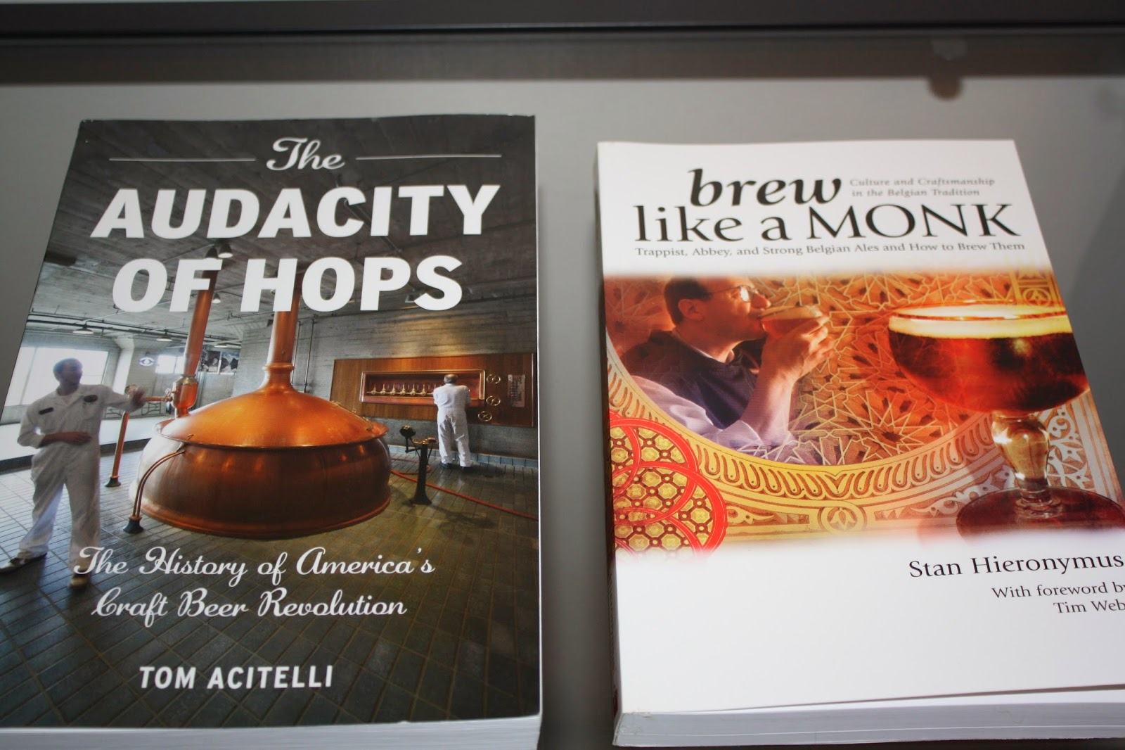 Beer Books, Homebrewing, Brew Like a Monk, The Audacity of Hops