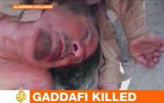 Moammar Khadafi Meninggal Dunia