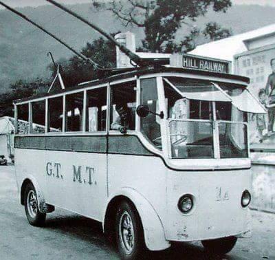 sejarah bas di pulau pinang, bas elektrik di pulau pinang, bas terawal di pulau pinang, pengangkutan awal di pulau pinang,