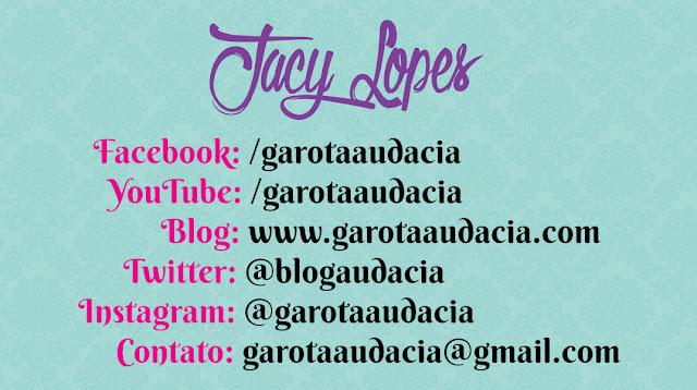 O BLOG- www.garotaaudacia.com