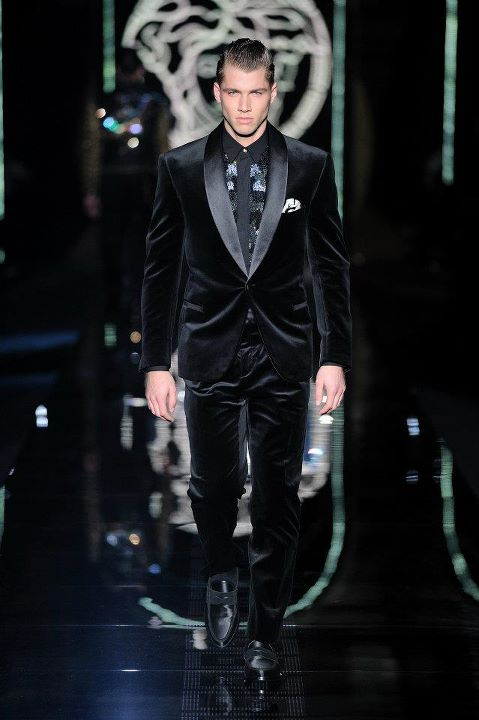 versace men u0026 39 s wear fashion show fall winter 2012