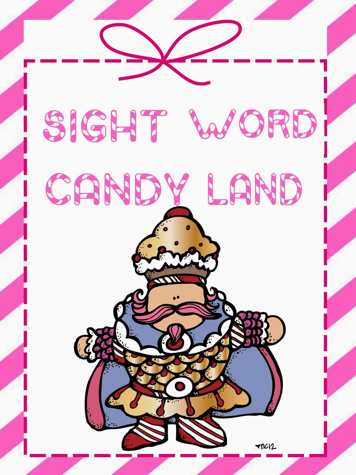 2nd grade snickerdoodles  sight word candy land