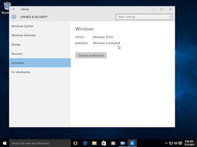 Cara Upgrade Windows 7 / Windows 8.1 ke Windows 10 dan Aktif Permanen