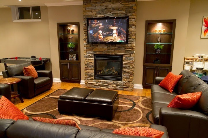 wall colors for basement family room