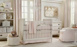 White Baby Room With Elegant Nursery Blackout Curtains Curtain Designs
