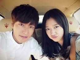 Kumpulan Foto Lee Min Ho dan Park Shi She Terbaru