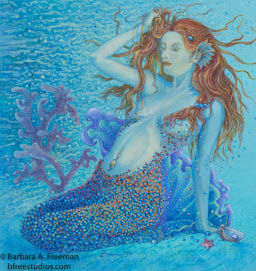 """The Mermaid"" © Barbara A. Freeman"