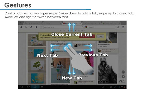 UC Browser for tablets