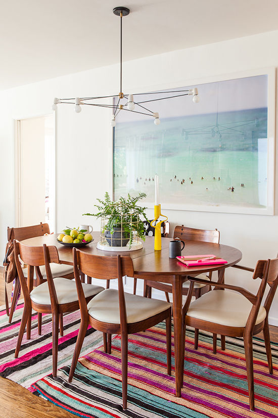 Look For Less Eclectic Dining Room