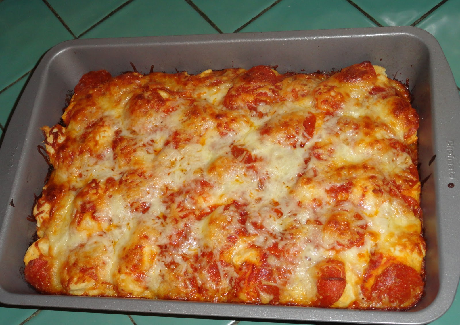 "Busy Mama Bird: ""Endless Possibility"" Pizza Bake Recipe"