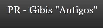 """PR - Gibis """"Antigos"""""""