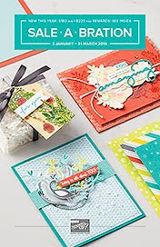 View the 2018 Stampin'Up! Sale-A-Bration brochure