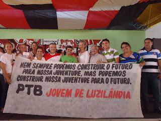 Juventude de Luzilândia participa de convensão do PTB em Teresina