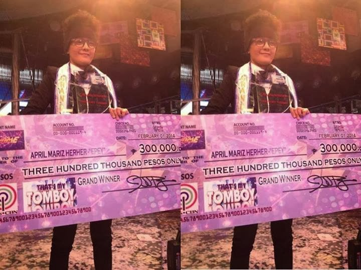 April Mariz Epey Herher That's My Tomboy Grand Finals Winner