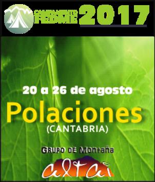 Campamento  FEDME 2017