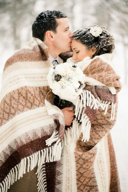 Pozytywne Inspiracje ślubne ślub Zimą