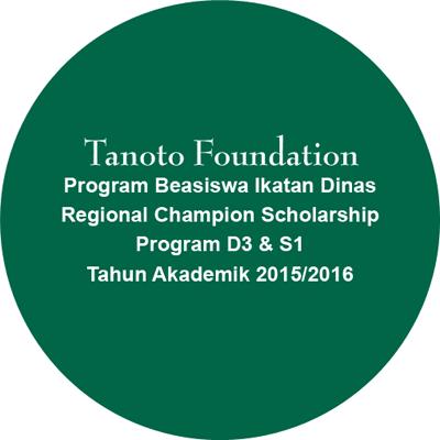 Beasiswa Tanoto Foundation 2015