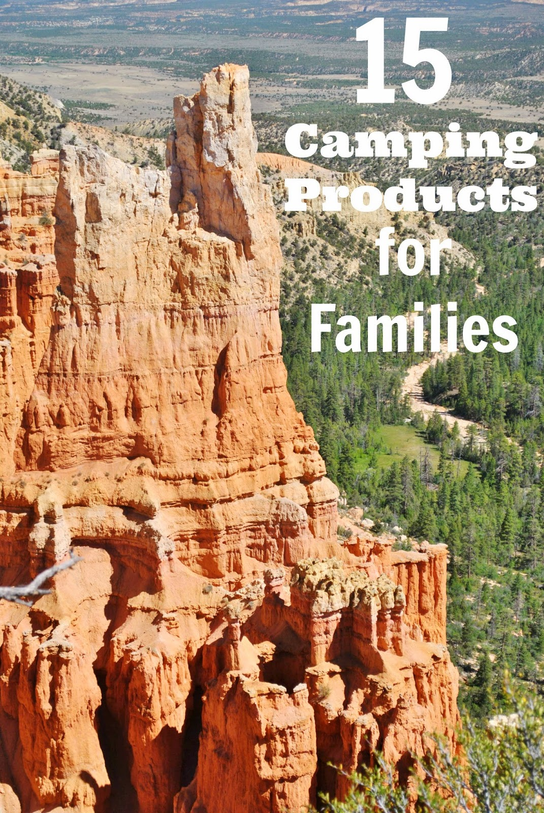 Great list of #camping products for family #travel.