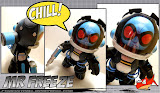 Custom Mr Freeze Mighty Muggs