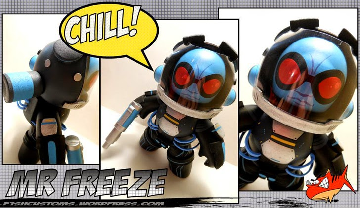 Mr. Freeze Mighty Muggs Customs
