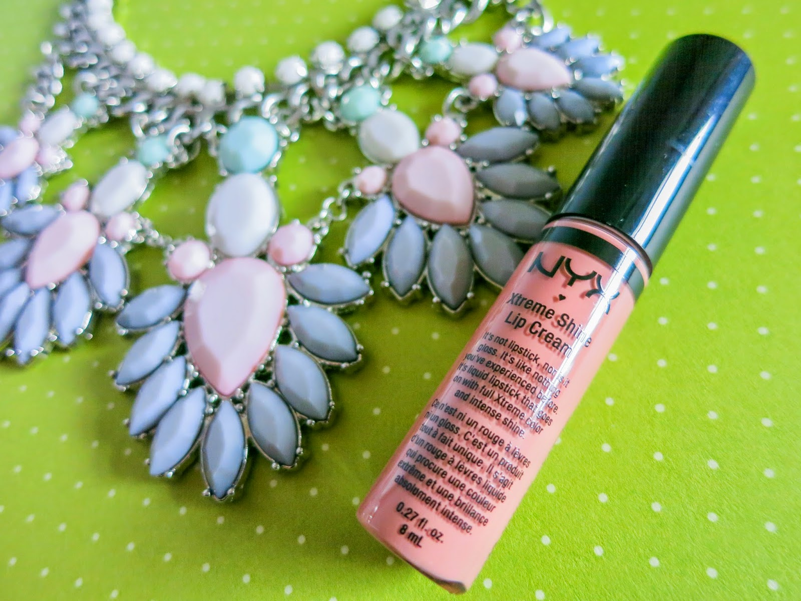 NYX Xtreme Lip Cream Natural Review Swatch