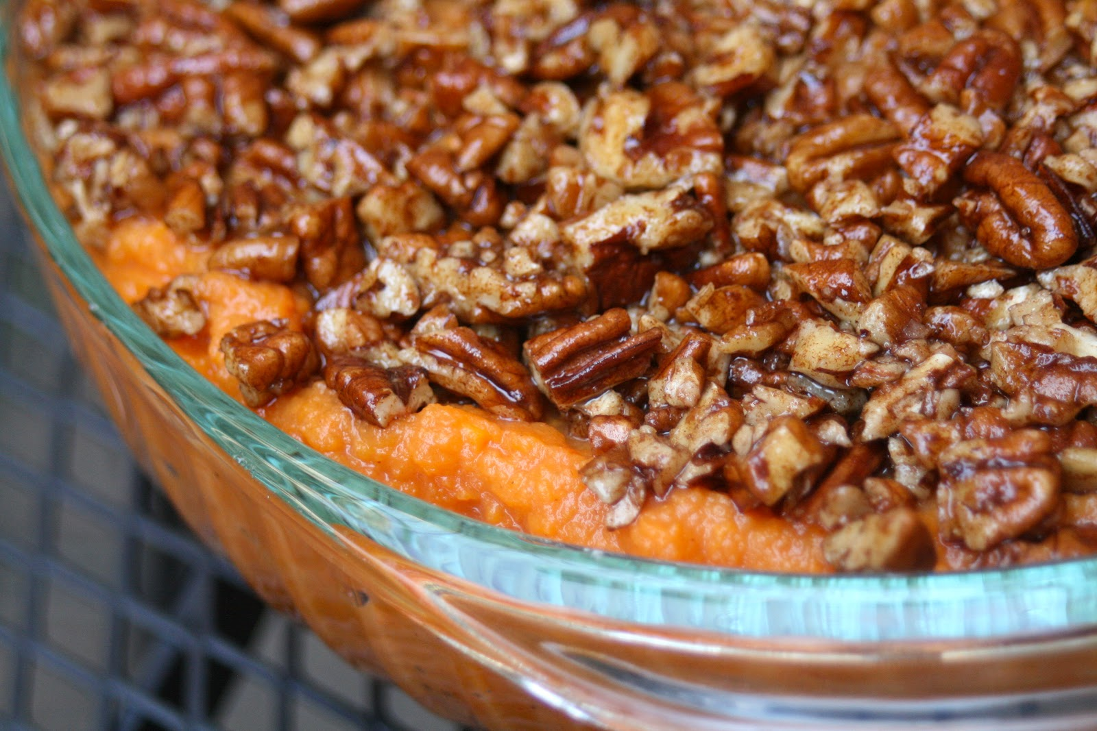 CupcakesOMG!: Paleo Sweet Potato Casserole (and the Rest of Sunday ...