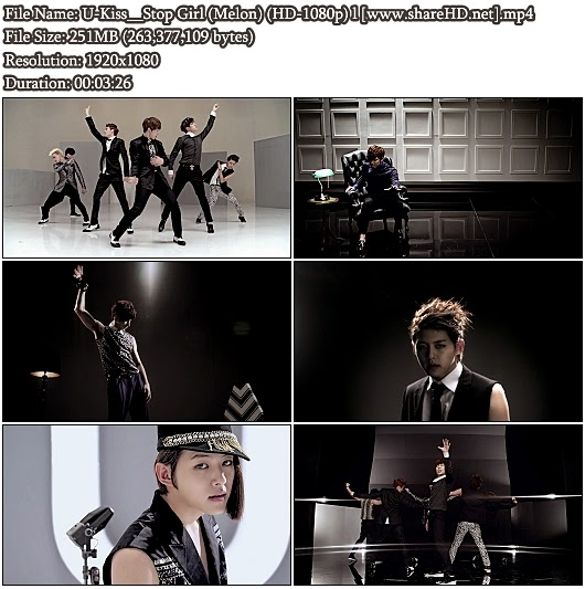 Download MV U-Kiss - Stop Girl (Melon Full HD 1080p)